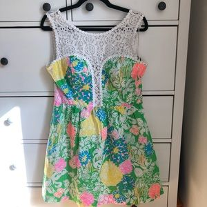 Lilly Pulitzer🌴💖✨Reagan Dress in Hibiscus Stroll